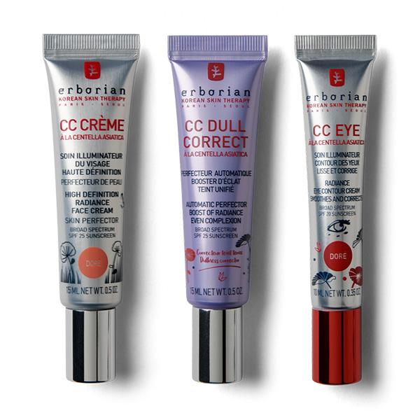 Dullness corrector & illuminating skin Trio - Bronze shade
