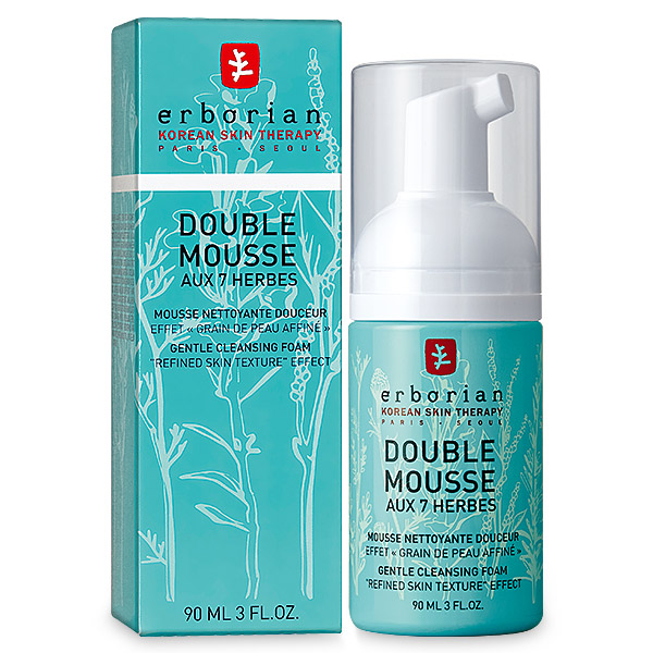 Double Mousse - 7 herbs Cleansing Foam
