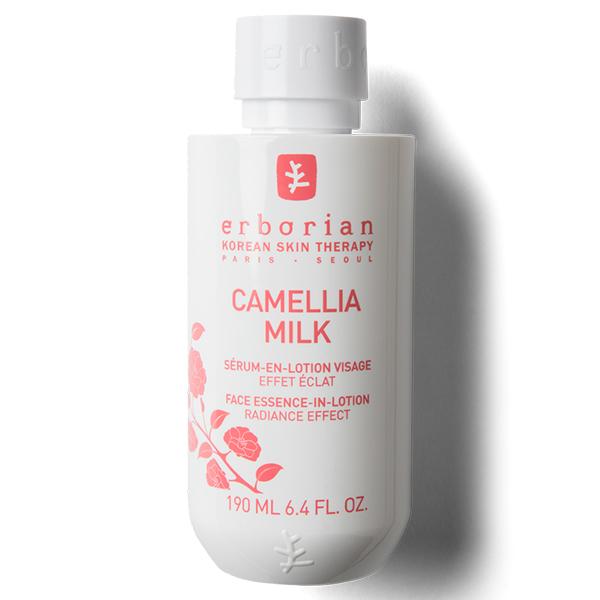 Камелия смягчающее молочко для сияния кожи