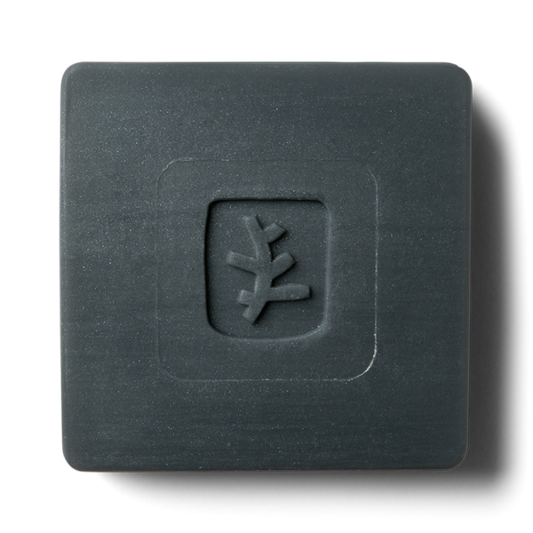 Черное мыло для лица с углем