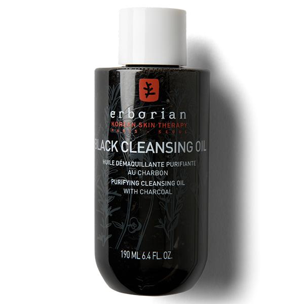 Черное масло для очищения лица фото