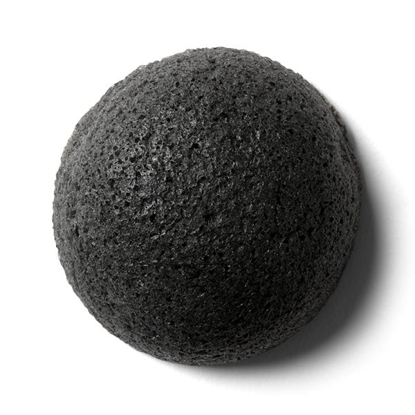 竹炭-蒟蒻潔膚海綿
