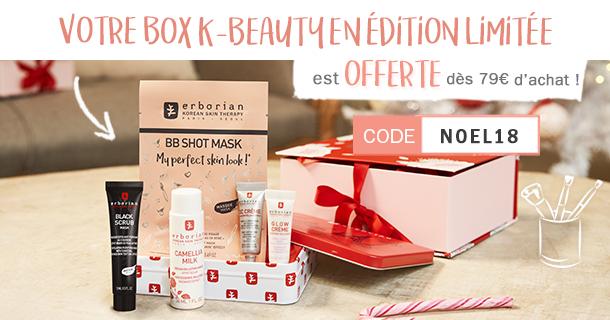 Votre box K-Beauty offerte dès 79€ d'achat