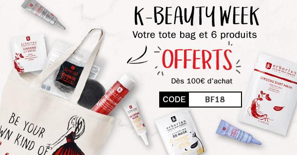 Votre tote bag et ses 8 produits OFFERTS dès 100€ d'achat !