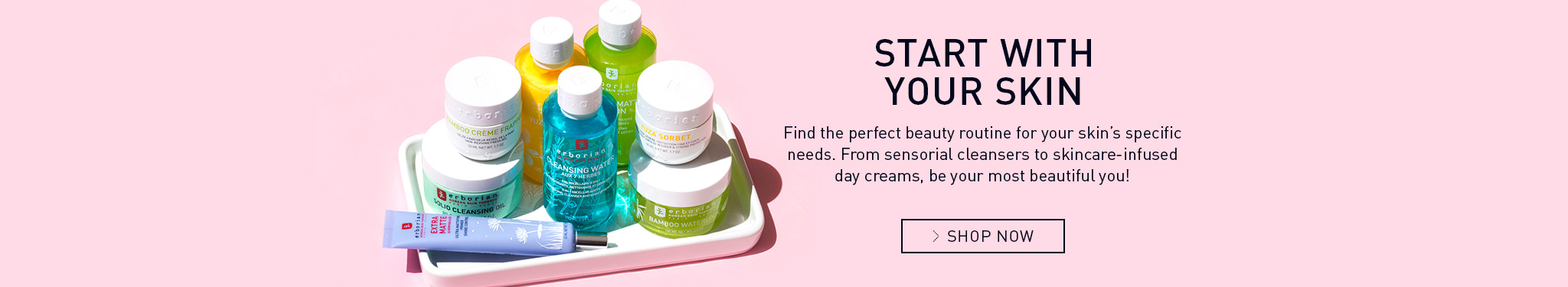 skincare first