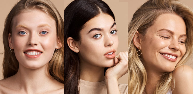 Your skin tone is fair with pink undertones: