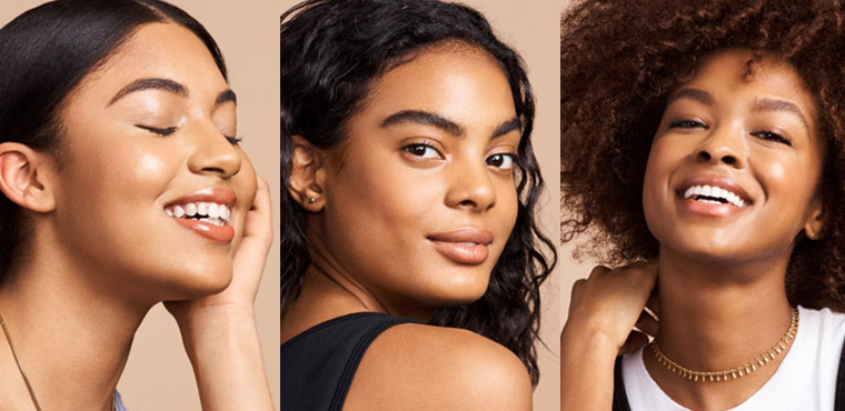 You have a medium to deeper skin tone: