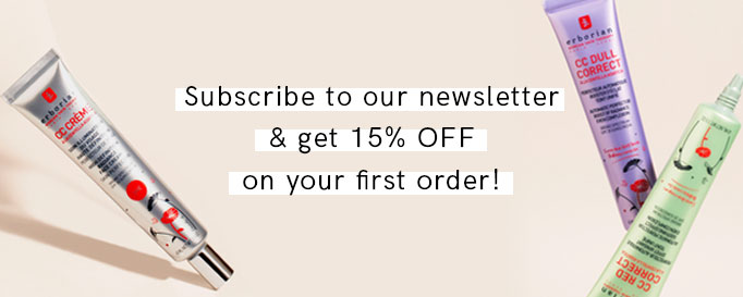 Sign up to our newsletter and get 15% off on your first order!