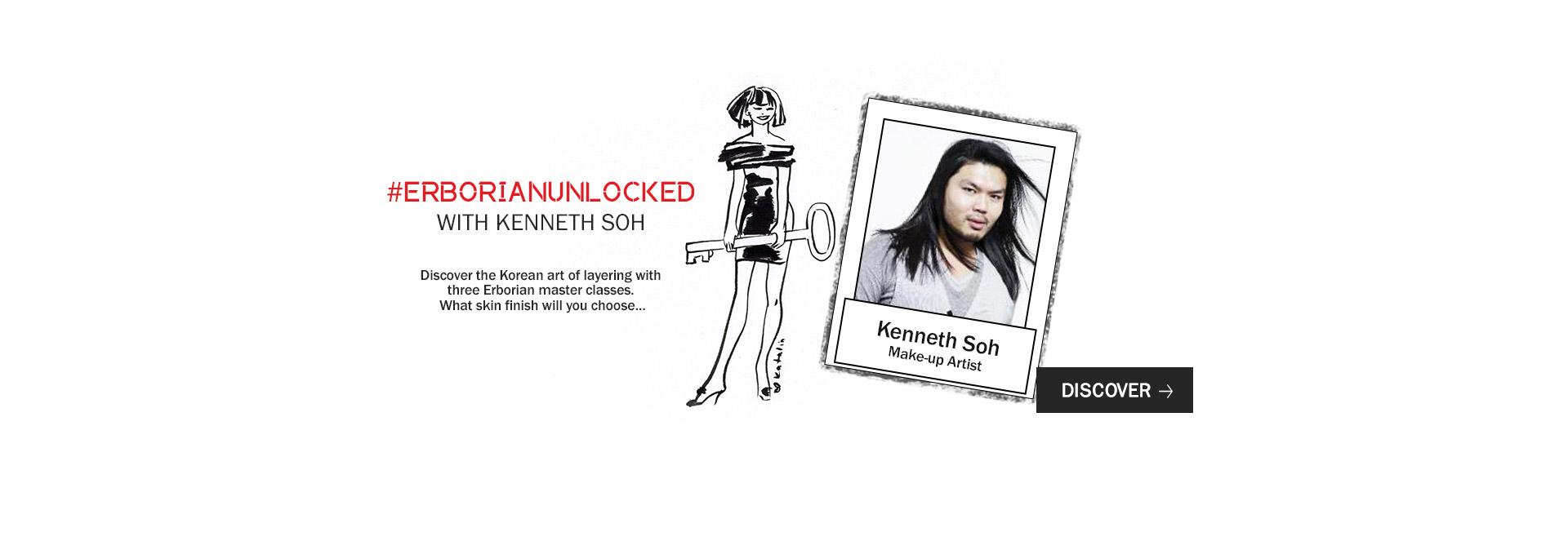 erborian unlockocked : the make-up artist kenneth soh unlock korean art of layering