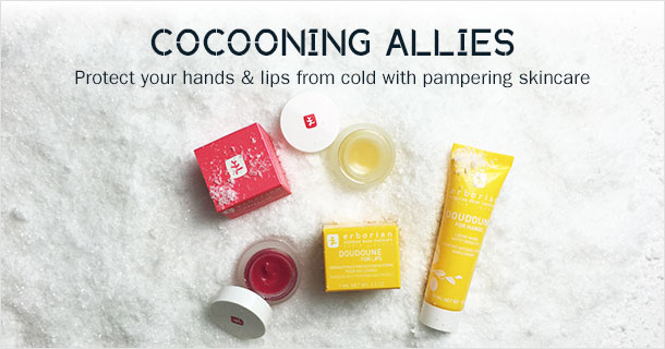 Protect your hands & Lips from cold with pampering skincare this winter...