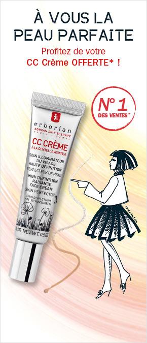CC Crème : peau parfaite
