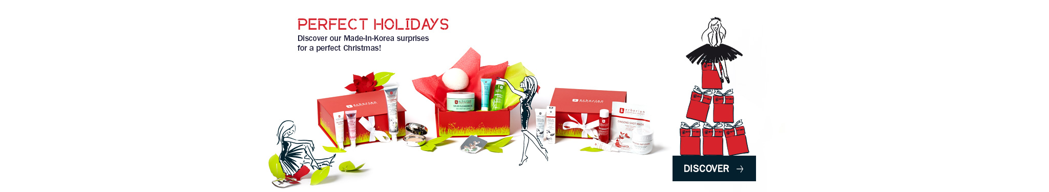 Korean Christmas for original and perfect gifts