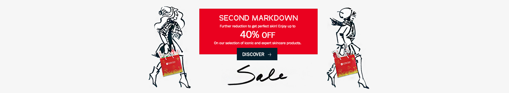 Winter Sale: Special prices on a selection of best sellers for perfect skin