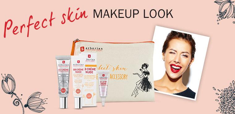 Perfect Skin Makeup Look