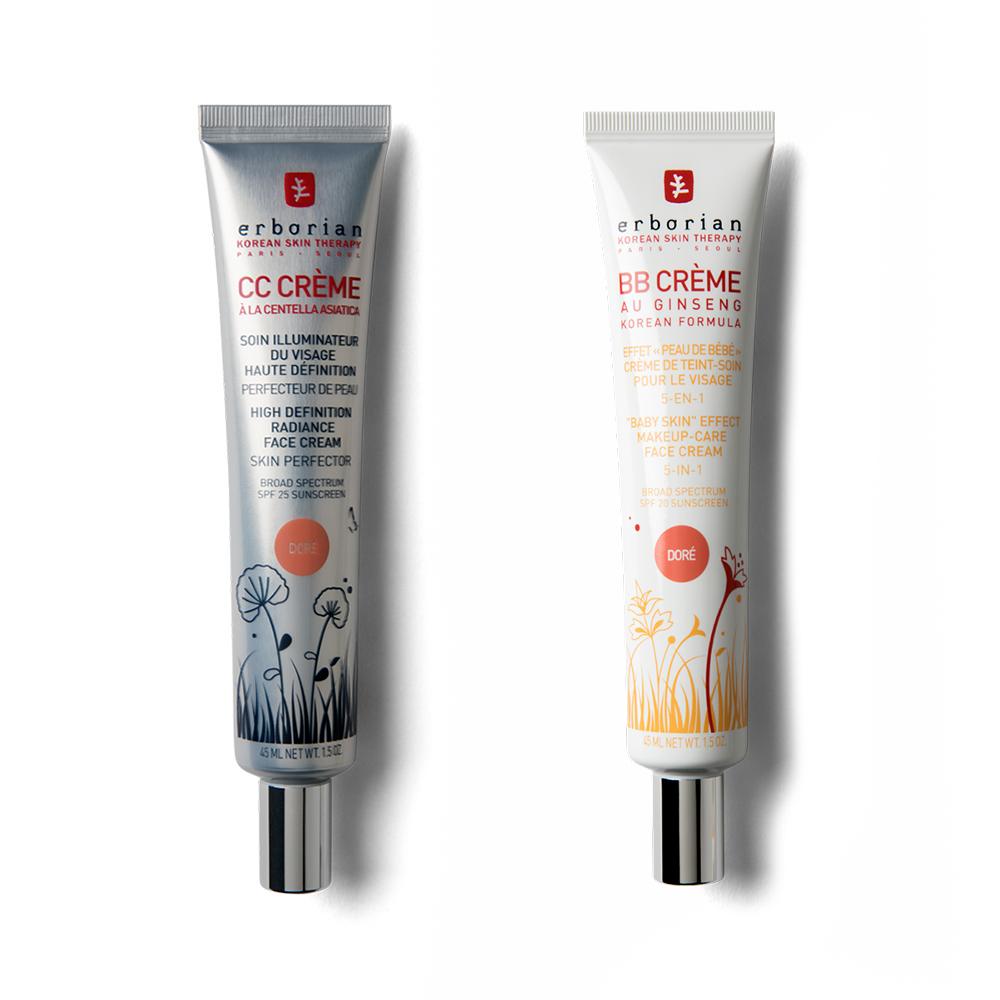 Golden BB cream & CC cream Duo