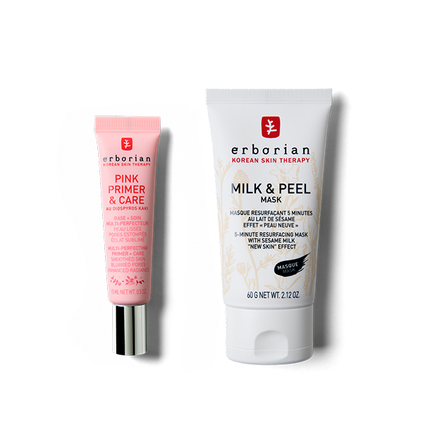 Milk & Pink Duo - Mask